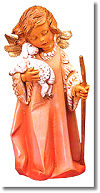 12 Inch Scale Little Shepherd Angel by Fontanini