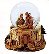 Gitterdome, Holy Family, plays Joy to the World. by Fontanini