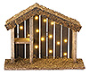 Fontanini 5 Inch Scale LED Lighted Nativity Stable - Available September 2015