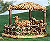 Fontanini 7.5 Inch Scale Sheep Shelter