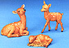 5 Inch Scale Deer Family by Fontanini