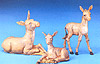 5 Inch Scale Donkey Family by Fontanini