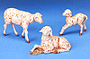 5 Inch Scale Sheep Family by Fontanini