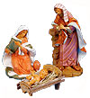 18 Inch Scale Polymer Holy Family Set by Fontanini