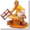 5 Inch Scale Amos, Carpenter by Fontanini