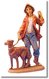 5 Inch Scale Zachariah, Shepherd by Fontanini