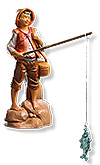5 Inch Scale Jacob, Fisherman by Fontanini