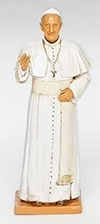Fontanini 7 Inch Pope Francis