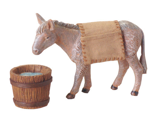 7.5 Inch Scale Mary's Donkey by Fontanini