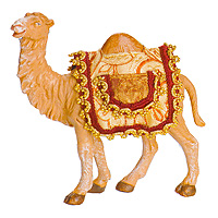 7.5 Inch Scale Children's Camel by Fontanini