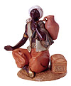 12 Inch Scale Seated Camel Driver by Fontanini
