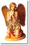 12 Inch Scale Kneeling Angel by Fontanini