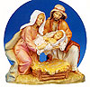 5 Inch Scale Life of Christ - Birth of Christ by Fontanini
