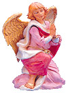 18 Inch Scale Kneeling Angel by Fontanini
