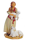 5 Inch Scale Joan the Shepherdess by Fontanini