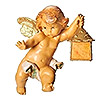 Fontanini Cherub Angel with Lantern