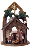 Holy Family Votive Holder by Fontanini