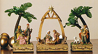 Nativity Triptych by Fontanini