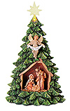 Nativity Christmas Tree by Fontanini