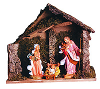 12 Inch Scale Nativity Stable by Fontanini - Figures Not Included