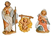 3.5 Inch Scale Holy Family by Fontanini