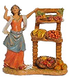 3.5 Inch Scale Rachel with Produce Shop by Fontanini