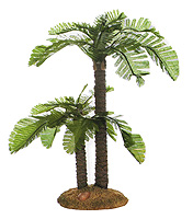3.5 Inch Scale Double Trunk Palm by Fontanini