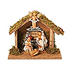 Fontanini 3.5 Inch Scale 4 Piece Nativity Set
