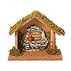 Fontanini 3.5 Inch Scale Nativity Stable