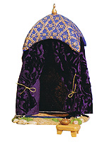 5 Inch Scale Purple King's Tent by Fontanini