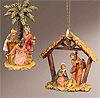 Ornaments - Set of 2 by Fontanini