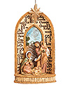 Fontanini Names of Jesus Ornament - Available July 2015