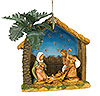 Fontanini 2015 Holy Family Event Ornament - Available August 2015
