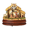 Fontanini Musical Holy Family Stable with Base Estimated Availability May 2016