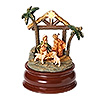 Fontanini Holy Family Musical LED Star with Base