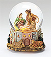 Fontanini Holy Family LED Lighted Musical Glitterdome - Available September 2015