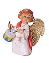 5 Inch Scale Anah the Little Drummer Angel by Fontanini