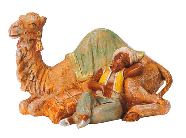 5 Inch Scale Cyrus, Boy with Camel - 2012 Limited Edition by Fontanini