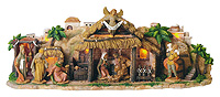 Musical Nativity Scene - Tune: Silent Night by Fontanini