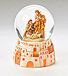 Fontanini Holy Family Lighted Glitterdome