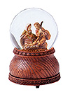 Holy Family Glitterdome by Fontanini