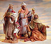 Fontanini 5 Inch Scale 3 Kings - Wisemen