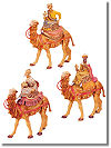 5 Inch Scale Three Kings on Camels ( Set ) by Fontanini