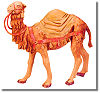 5 Inch Scale Camel with Saddle Blanket by Fontanini