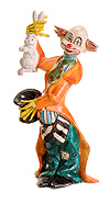 Fontanini Clown with Rabbit by Fontanini