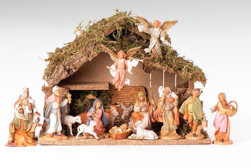 5 Inch Scale 16 Piece Nativity Set By
