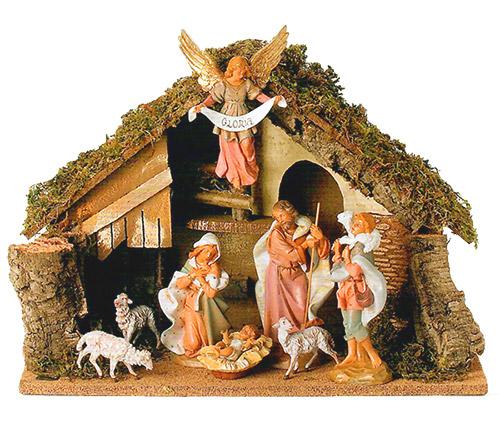 7 5 Inch Scale 8 Piece Nativity Set